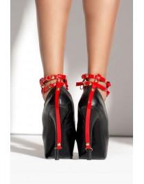 Колготы в сетку Strip Panty 153 с контрастной отделкой вырезов