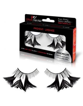 Чёрно-розовый костюм секси-горничной
